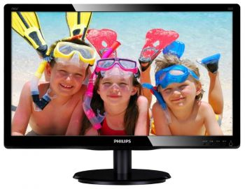 "Монитор Philips 19"" 196V4LSB2/62 Black (1366x768, LED, LCD, Wide, 5 ms, D-Sub, +VESA) ― CDDB.ru - техника для дома и бизнеса"